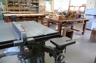 木工室写真