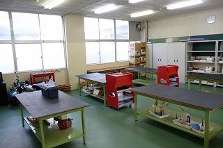 原動機実習室写真