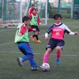 女子サッカー部初蹴り 2017