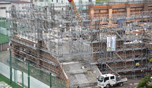 新体育館建設日記(2018.09.21)