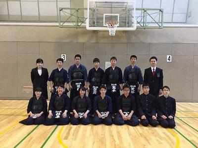 剣道部 男女で地区大会出場 県大会へ