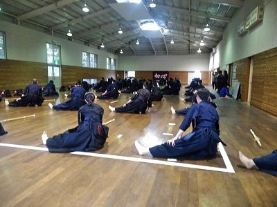 剣道部の10連休(2019)