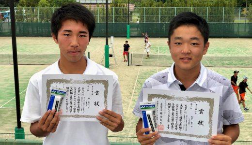 秋季岩国近郊選抜高等学校ソフトテニス大会