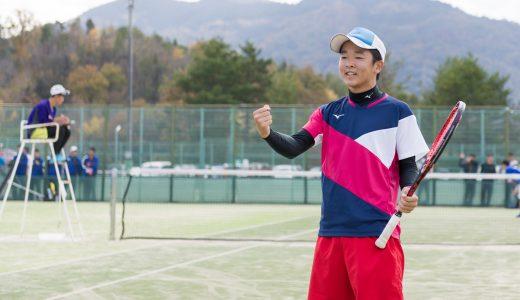 県新人戦 シングルス第5位(ソフトテニス )