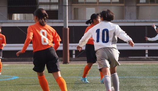 女子サッカー新人大会はじまる。