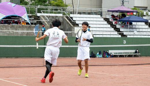 地区新人 準優勝(ソフトテニス)