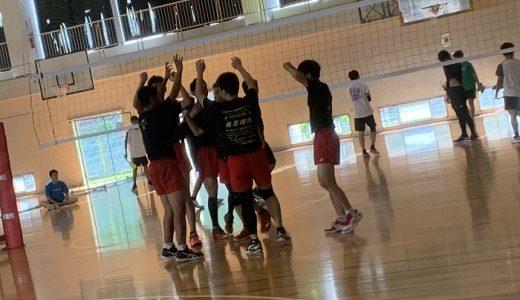 男子バレーボール部~練習試合結果報告【9月26日,27日】