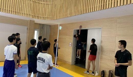 第1回オープンキャンパス【バレーボール部】