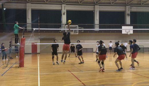 男子バレーボール部~中間試験終了~練習試合~