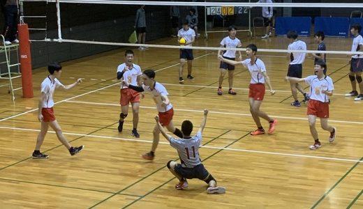 第73回全日本バレーボール高等学校選手権大会【3回戦】男子結果報告