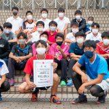第74回広島県高等学校総合体育大会(男子ソフトテニス部)