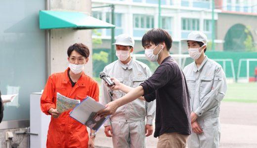 広島FM「9ジラジ」 タイヤ交換対決の取材を受けました